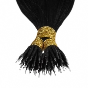 "Remy Hair Nano tip #Virgin, 22"", Single Drawn, Straight, In-Stock"