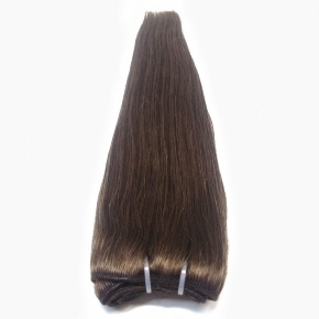 """Remy Hair Weft Color #3, 18"""", Single Drawn, Straight, In-stock"""