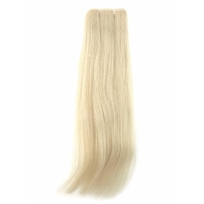 """Remy Hair Weft Color #613, 18"""", Single Drawn, Straight, In-stock"""