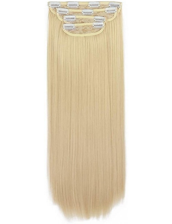 4 PCS Clip Hair Extension Double Drawn