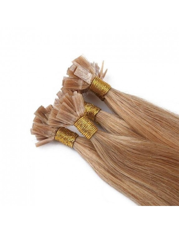 Flat-Tip Hair Extension Double Drawn