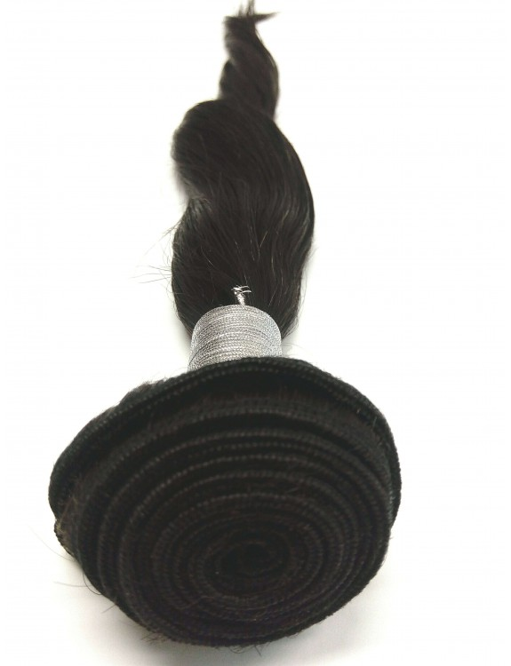 """Remy Hair Weft Color #2, 18"""", Single Drawn, Straight, In-stock"""